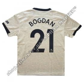 Нанесение имени, фамилии, номера, шрифт Манчестер Юнайтед 19-20
