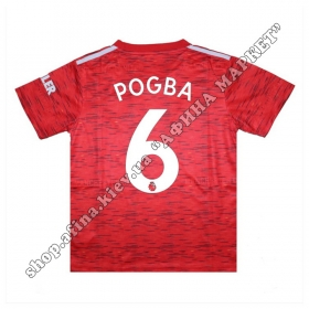 Нанесение имени, фамилии, номера, шрифт Манчестер Юнайтед 2020-2021