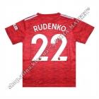 Нанесення імені, прізвища, номера, шрифт Манчестер Юнайтед 2020-2021
