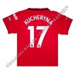 Нанесение имени, фамилии, номера, шрифт Манчестер Юнайтед 2019-2020