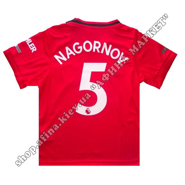 Нанесення імені, прізвища, номера, шрифт Манчестер Юнайтед 2019-2020