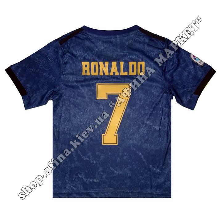 Нанесення імені, прізвища, номера, Реал Мадрид 2020