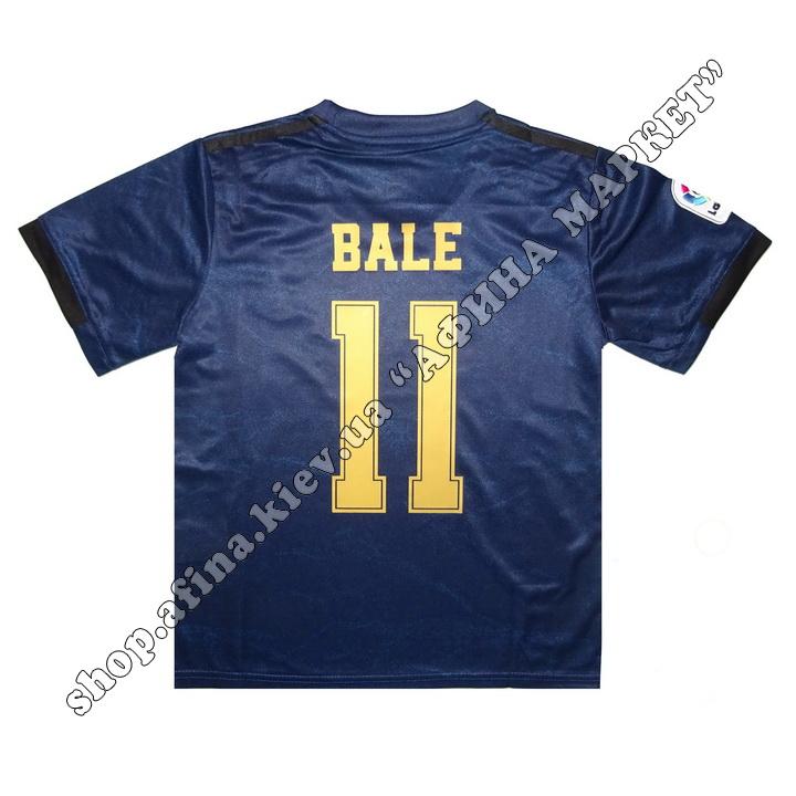 Нанесение имени, фамилии, номера, шрифт Реал Мадрид 19-20