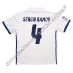 Нанесение имени, фамилии, номера, шрифт Реал Мадрид 2016-2017, флекс 1 цвет