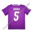 Нанесення імені, прізвища, номера, шрифт Реал Мадрид 2016-2017, флекс 1 колір