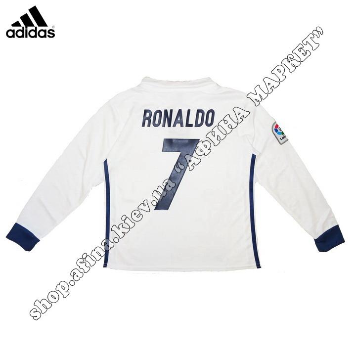 Нанесение имени, фамилии, номера, шрифт Реал Мадрид 2016-2017, флекс 1 цвет (5006)