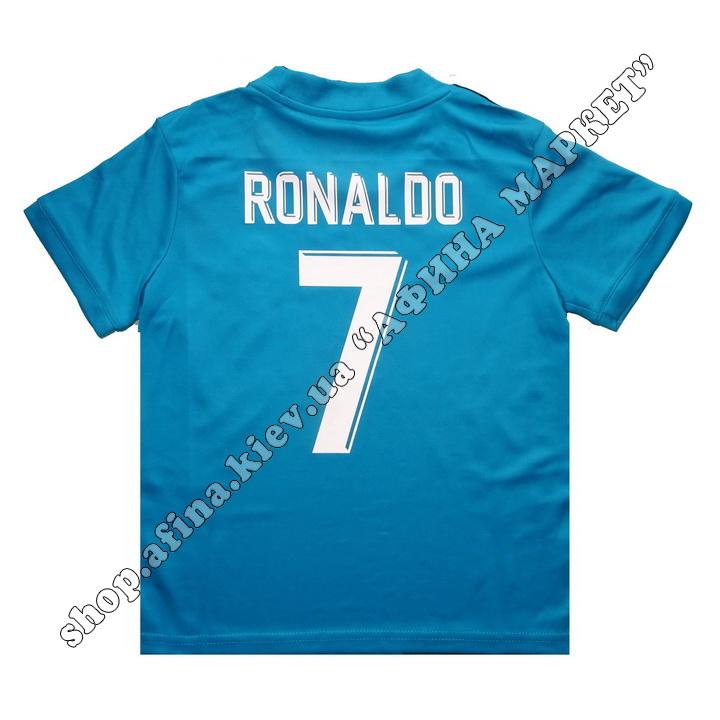 Нанесение имени, фамилии, номера, шрифт Реал Мадрид 2017-2018