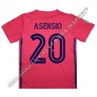 Нанесення імені, прізвища, номера, шрифт Реал Мадрид 2020-2021