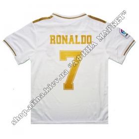 Нанесення імені, прізвища, номера, шрифт Реал Мадрид 2019-2020