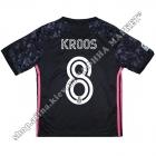 Нанесення імені, прізвища, номера, шрифт Реал Мадрид 2021