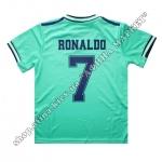 Нанесение имени, фамилии, номера, шрифт Реал Мадрид 2020