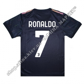 Нанесение имени, фамилии, номера, шрифт Ювентус Away 2021-2022