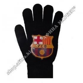 Перчатки футбольные Барселона