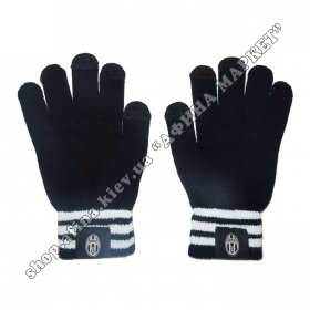 Зимние акриловые перчатки Реал Мадрид сенсорные