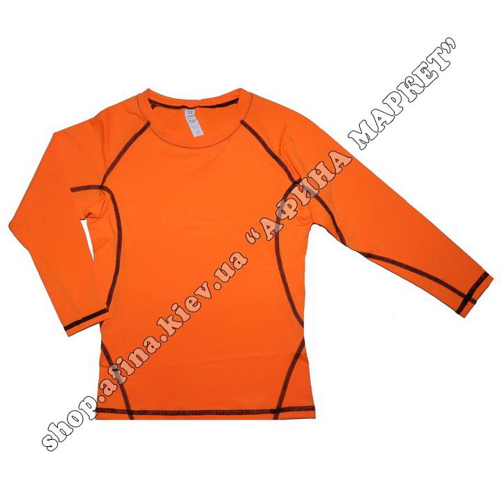 Термобілизна дитяча для футболу SENJI комплект Orange/Black  107523