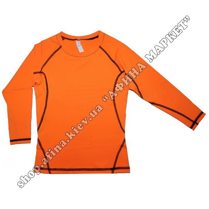 Термобілизна дитяча для футболу SENJI комплект Orange/Black  107524