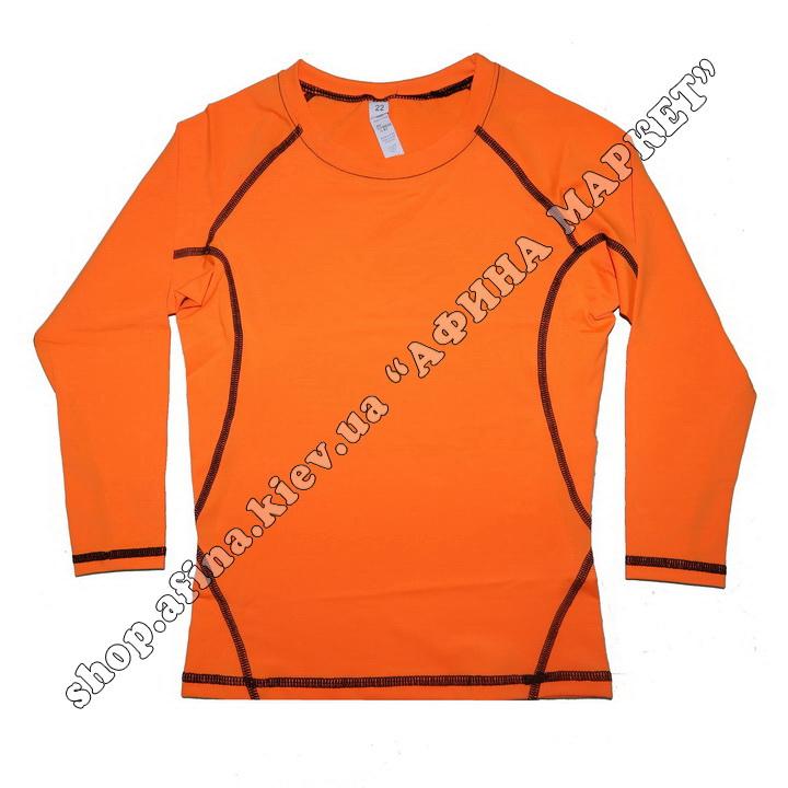 Термобілизна дитяча для футболу SENJI комплект Orange/Black  107525