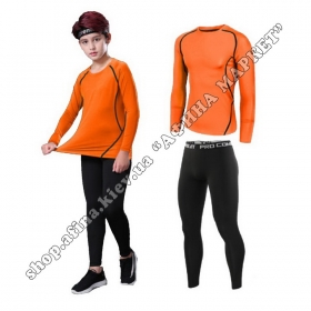 Thermal Underwear SENJI комплект Orange/Black