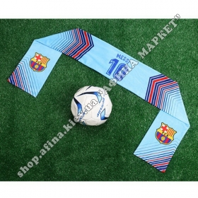 Шарф из кашемира Messi 10 Барселона Blue