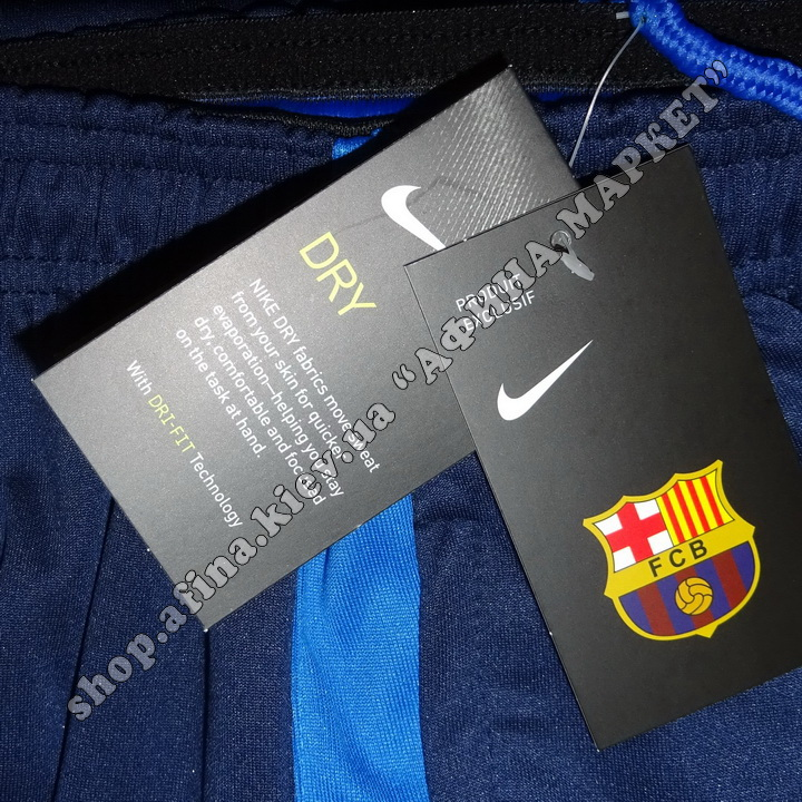Штаны Nike Барселона Squad Training Pant - Navy 2017