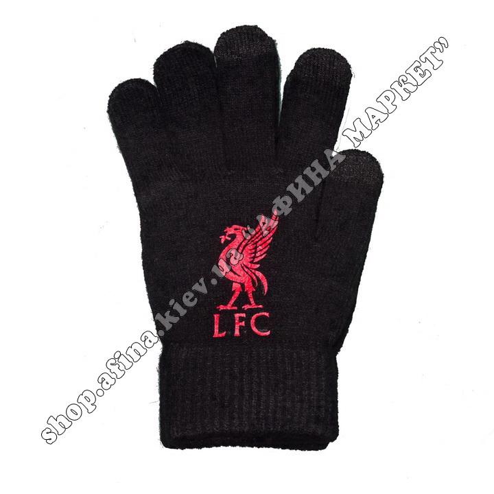 Спортивные перчатки футбольные детские Ливерпуль 2020 107937