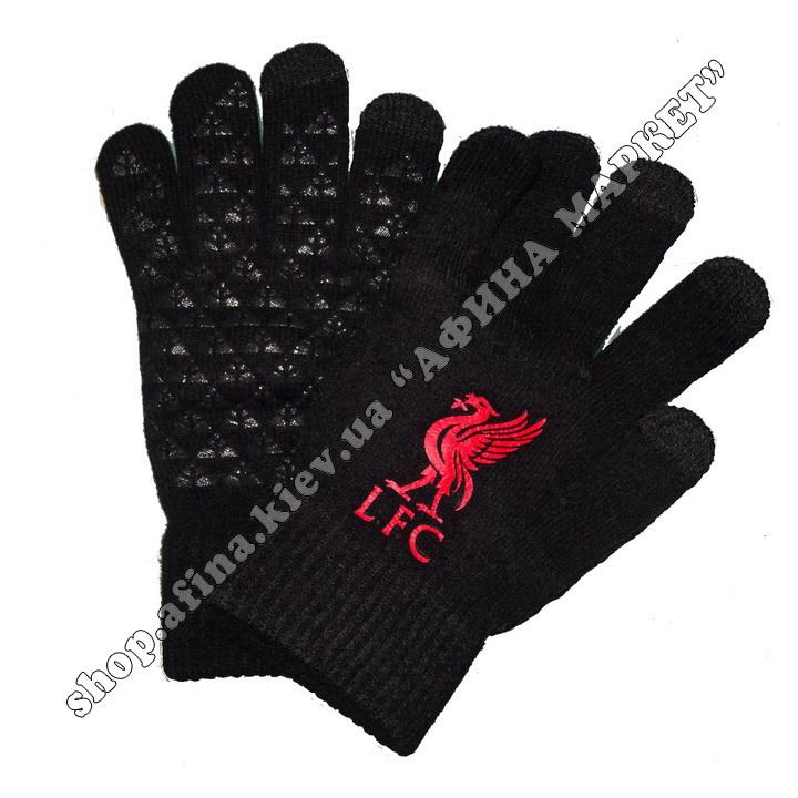 Спортивные перчатки футбольные детские Ливерпуль 2020 107938