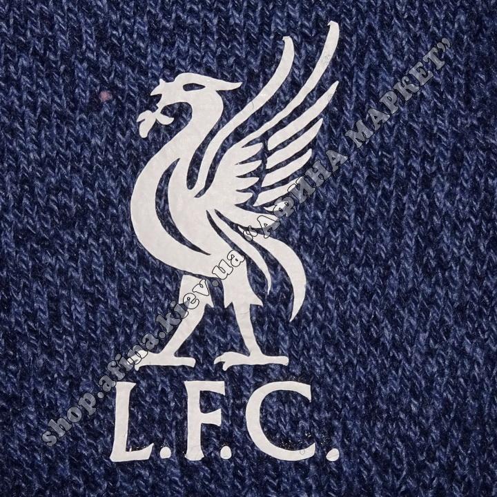 Спортивные перчатки футбольные детские Ливерпуль 2020 Blue 107948