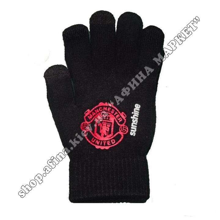 Спортивные перчатки футбольные детские Манчестер Юнайтед 2020 107952
