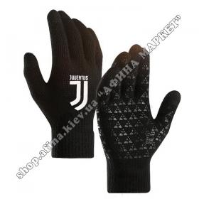Спортивные перчатки футбольные детские Ювентус 2020