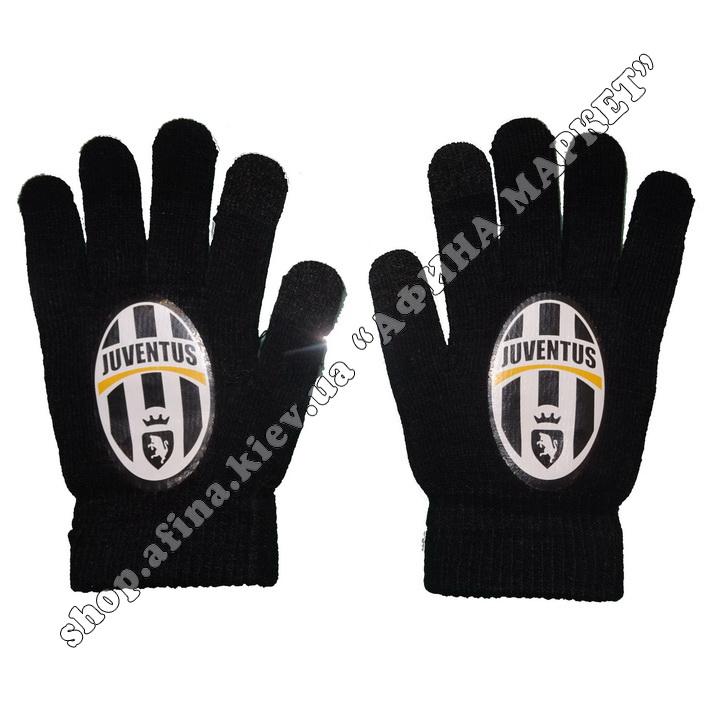 Спортивные перчатки футбольные Ювентус 107876
