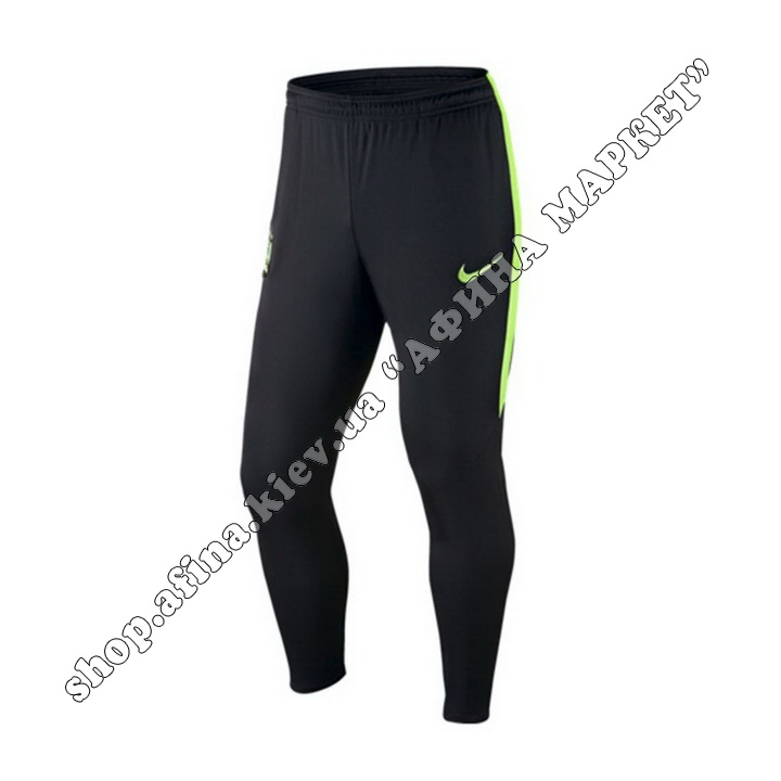 Штаны Nike Манчестер Сити Training Tech Pants Black 2016