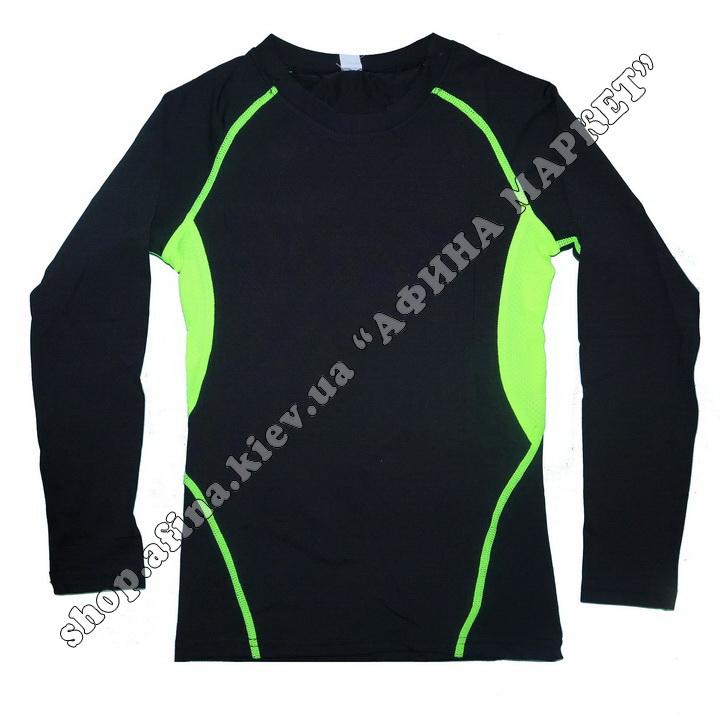 Термобілизна дитяча для футболу JIABIBANG комплект Black/Green 107461