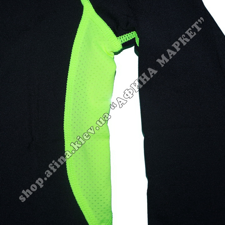 Термобілизна дитяча для футболу JIABIBANG комплект Black/Green 107462