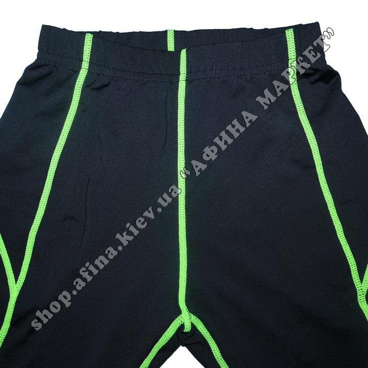 Термобілизна дитяча для футболу JIABIBANG комплект Black/Green 107464