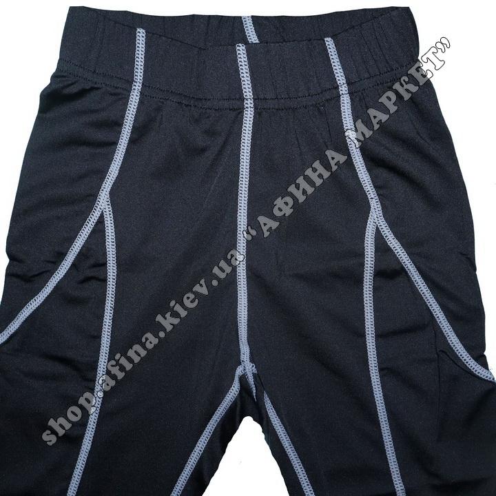 Термобілизна дитяча для футболу SPORT комплект Black/Gray 107551