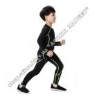 Термобілизна дитяча для футболу SPORT комплект Black/Green