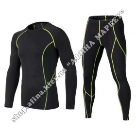 Thermal Underwear SPORT комплект Black/Green