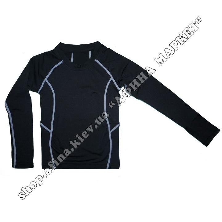Термобілизна дитяча для футболу FENTA комплект Black/Gray  107560