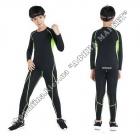 Термобілизна дитяча для футболу FENTA комплект Black/Green