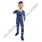 Термобілизна дитяча для футболу FENTA комплект 3D Blue