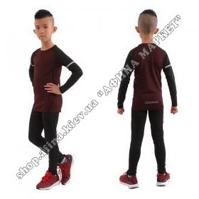 Термобілизна дитяча для футболу FENTA комплект Red