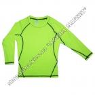Термобілизна дитяча для футболу SENJI комплект Green/Black