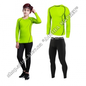 Thermal Underwear SENJI Green/Black