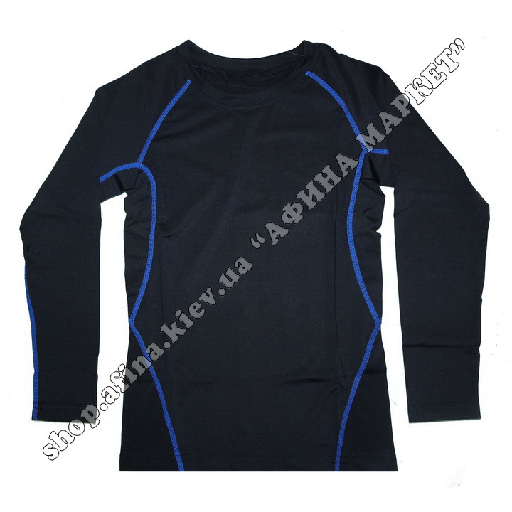 Термобілизна дитяча для футболу FENTA комплект Black/Blue 107578