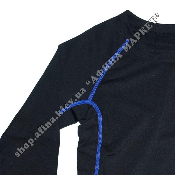 Термобілизна дитяча для футболу FENTA комплект Black/Blue 107579
