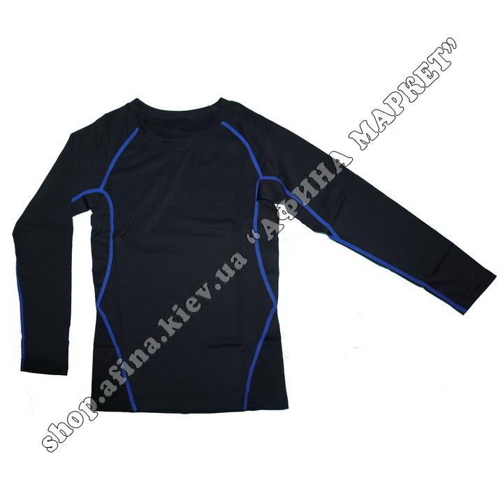 Термобілизна дитяча для футболу FENTA комплект Black/Blue 107580