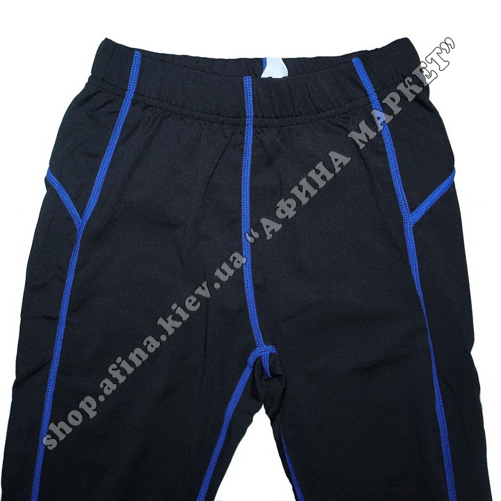 Термобілизна дитяча для футболу FENTA комплект Black/Blue 107581