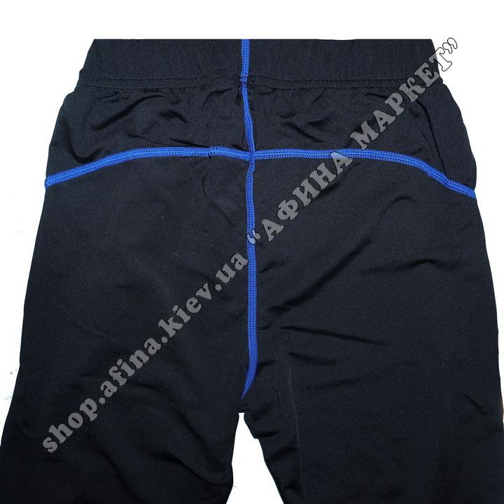 Термобілизна дитяча для футболу FENTA комплект Black/Blue 107583