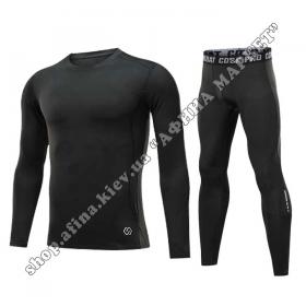 Thermal Underwear CD-SK Black Reflective Kids
