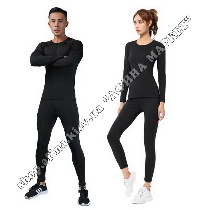 Thermal Underwear FENTA Winter Black Adult 110086